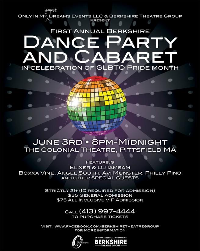 Berkshire Pride DanceParty