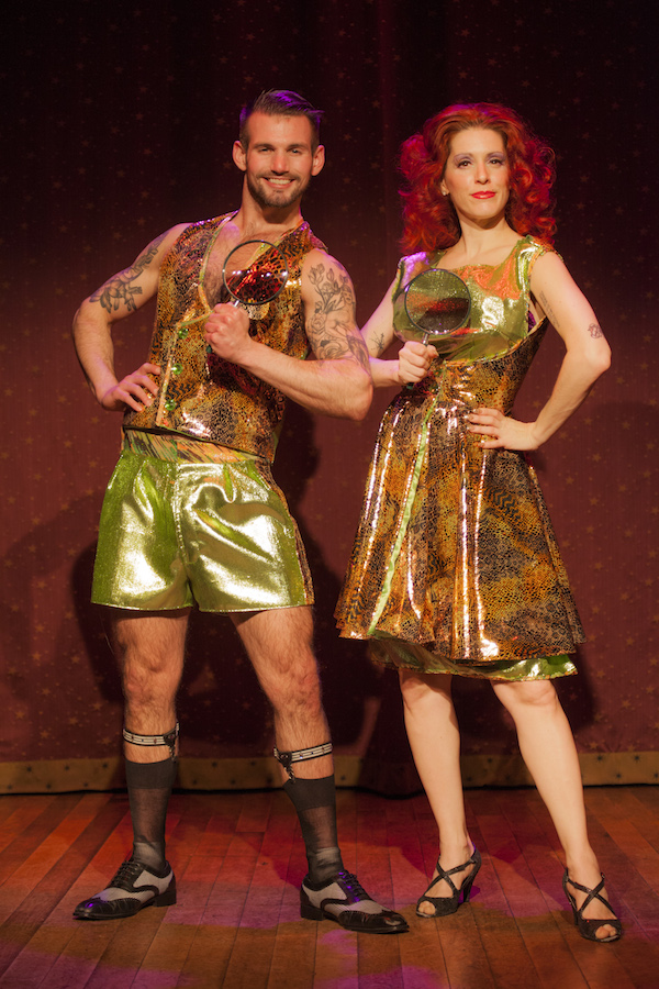 Chris Harder and Nancy Canasta (Photo: John Goddard via The Broadway Blog.)