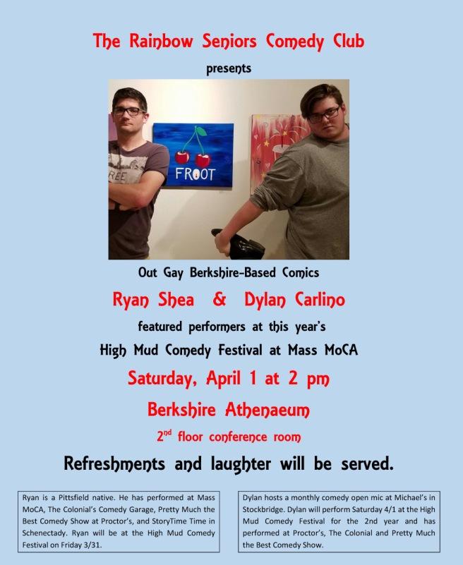 Comedy Club Pittsfielde 4-1-17
