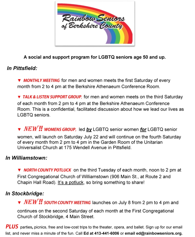 Outreach flyer June - July 2017